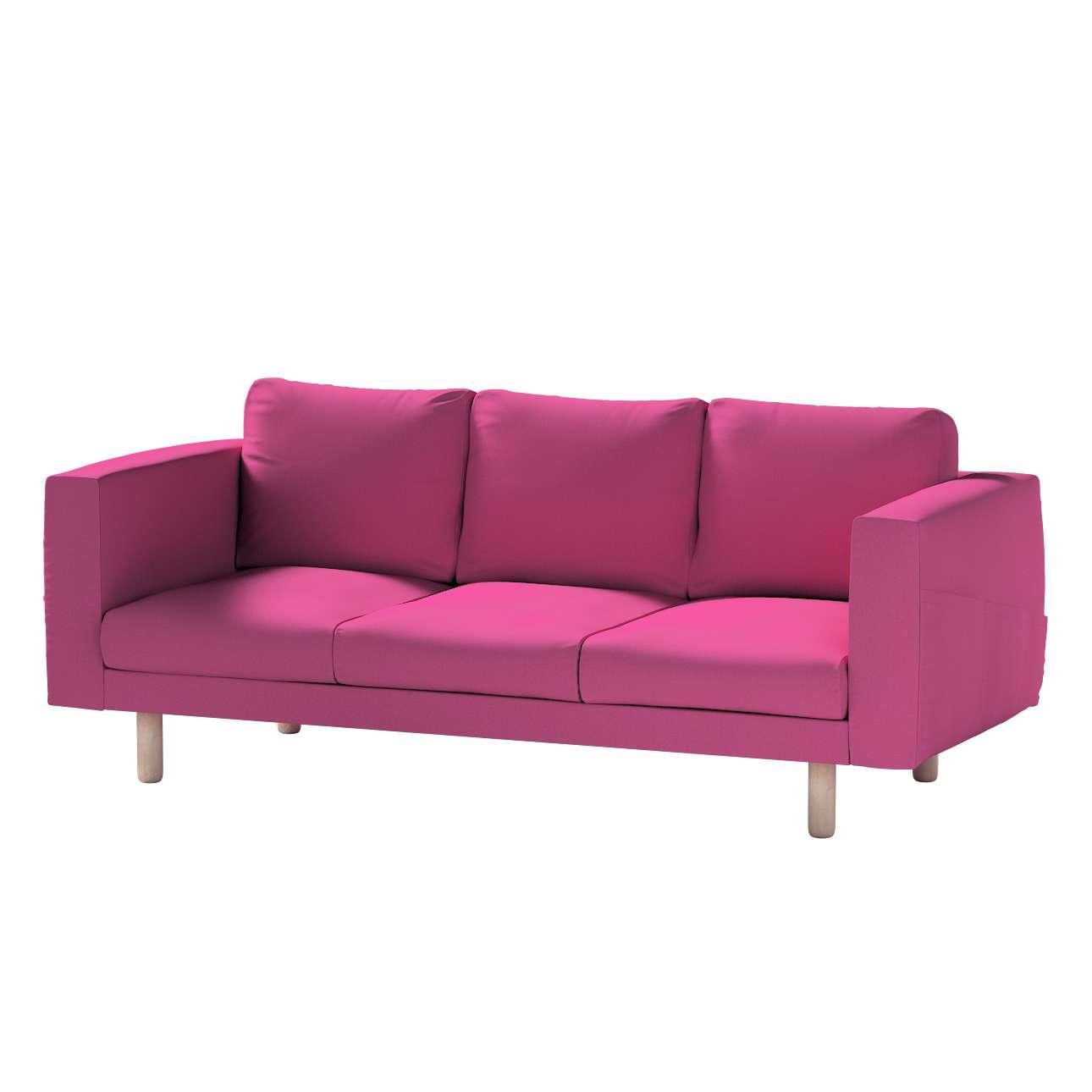 Pokrowiec na sofę Norsborg 3-osobową w kolekcji Living, tkanina: 161-29