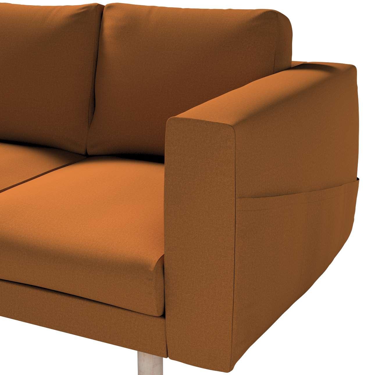 Pokrowiec na sofę Norsborg 3-osobową w kolekcji Living, tkanina: 161-28
