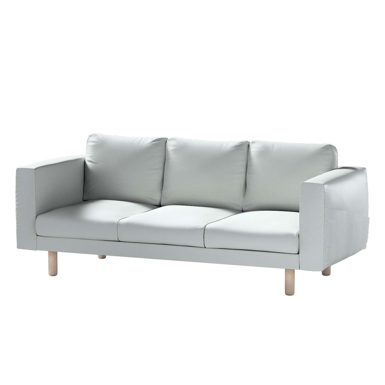 Pokrowiec na sofę Norsborg 3-osobową w kolekcji Bergen, tkanina: 161-72