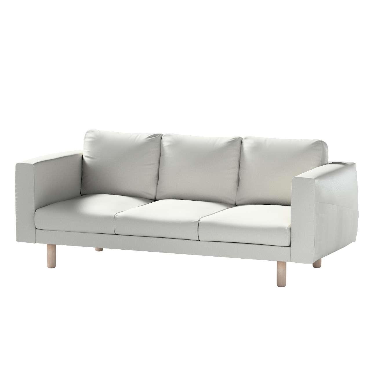 Pokrowiec na sofę Norsborg 3-osobową w kolekcji Bergen, tkanina: 161-84