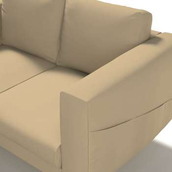 Pokrowiec na sofę Norsborg 2-osobową w kolekcji Cotton Panama, tkanina: 702-01