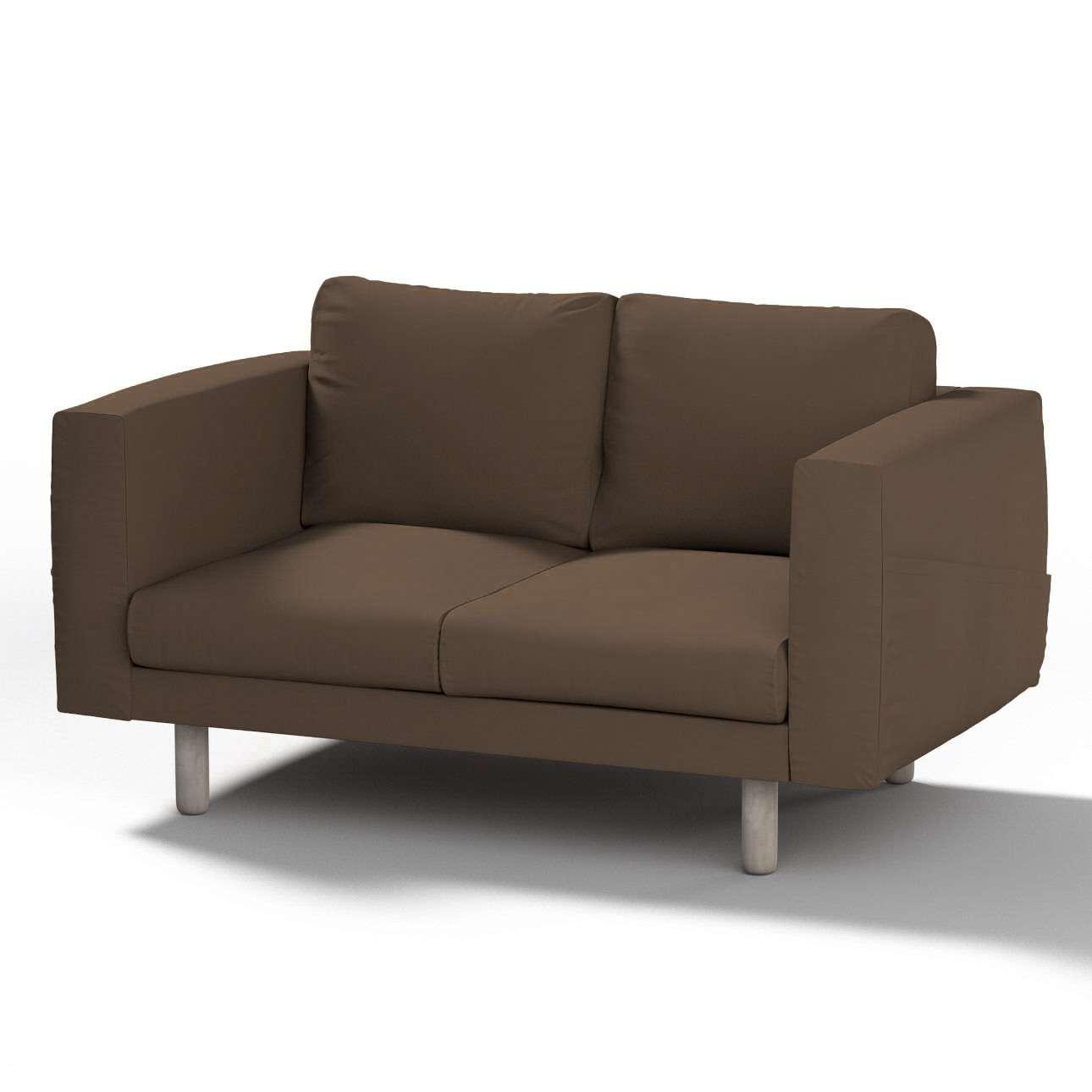 Pokrowiec na sofę Norsborg 2-osobową w kolekcji Cotton Panama, tkanina: 702-02