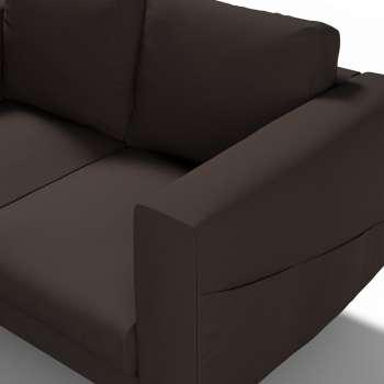 Pokrowiec na sofę Norsborg 2-osobową w kolekcji Cotton Panama, tkanina: 702-03