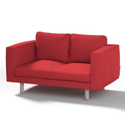 Norsborg 2-seat sofa cover 702-04 red Collection Panama Cotton