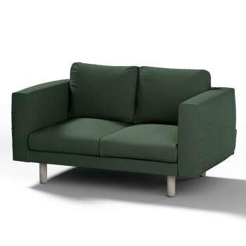 Pokrowiec na sofę Norsborg 2-osobową w kolekcji Cotton Panama, tkanina: 702-06