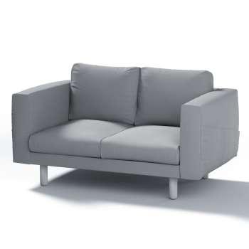 Pokrowiec na sofę Norsborg 2-osobową w kolekcji Cotton Panama, tkanina: 702-07