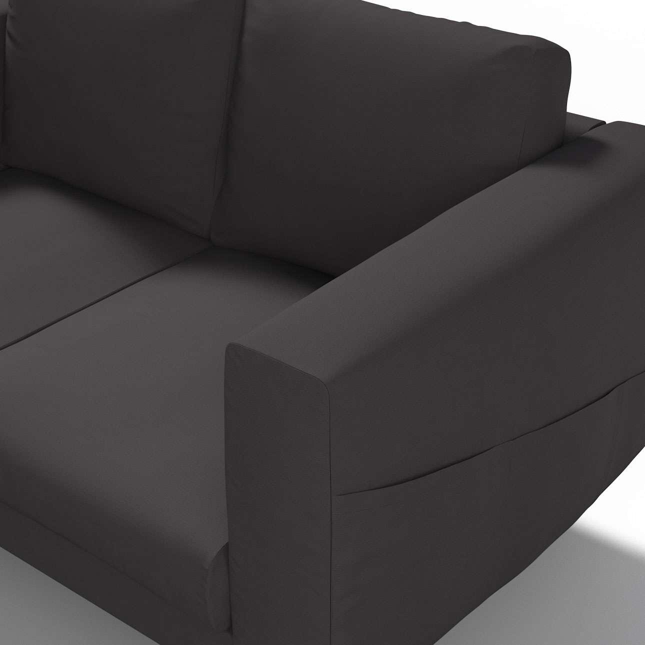 Pokrowiec na sofę Norsborg 2-osobową w kolekcji Cotton Panama, tkanina: 702-09