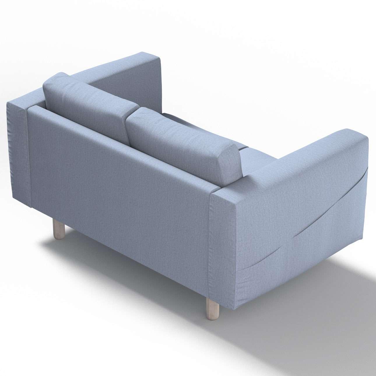 Pokrowiec na sofę Norsborg 2-osobową w kolekcji Chenille, tkanina: 702-13