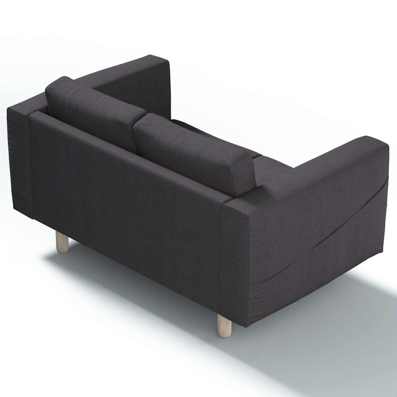 Pokrowiec na sofę Norsborg 2-osobową w kolekcji Chenille, tkanina: 702-20