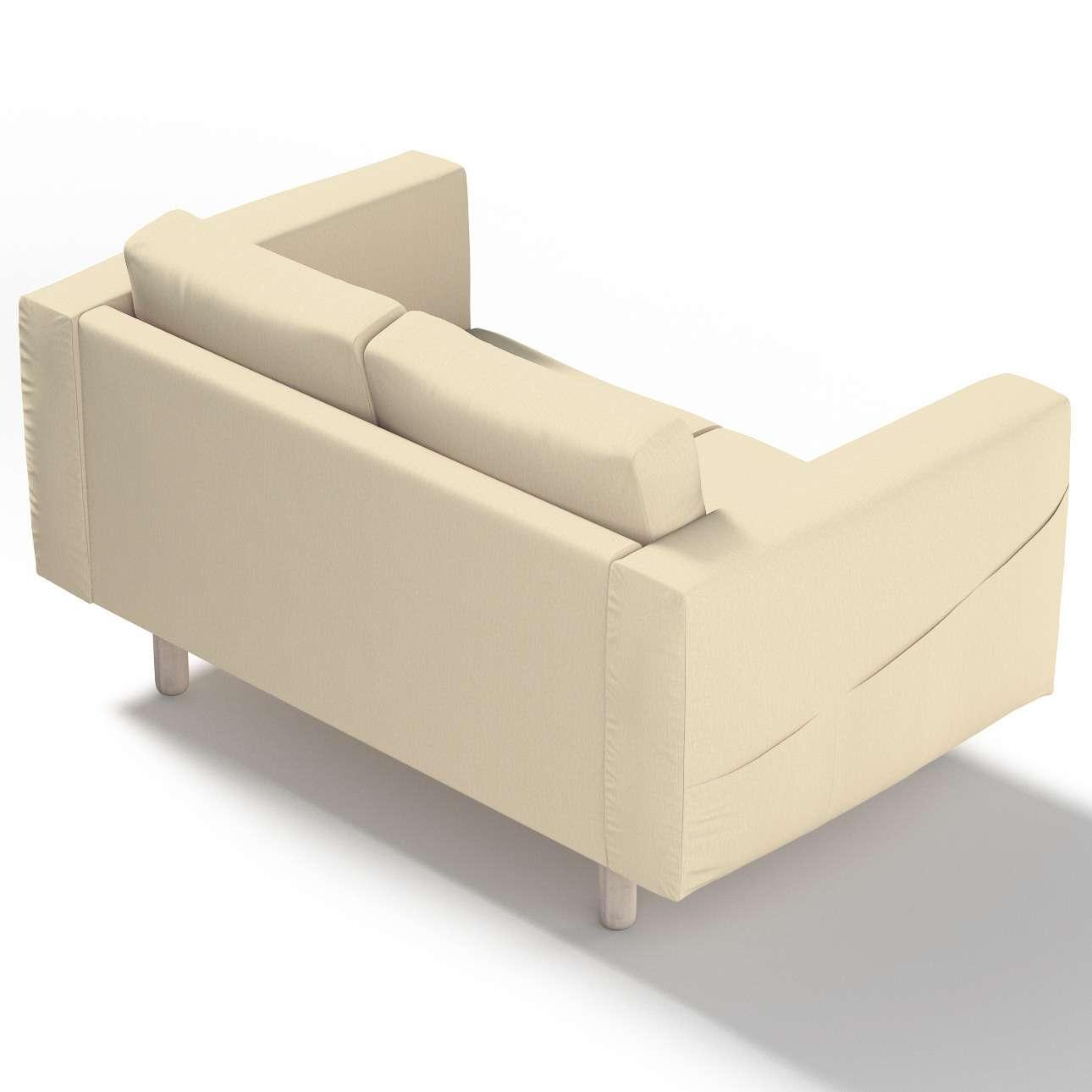 Pokrowiec na sofę Norsborg 2-osobową w kolekcji Chenille, tkanina: 702-22