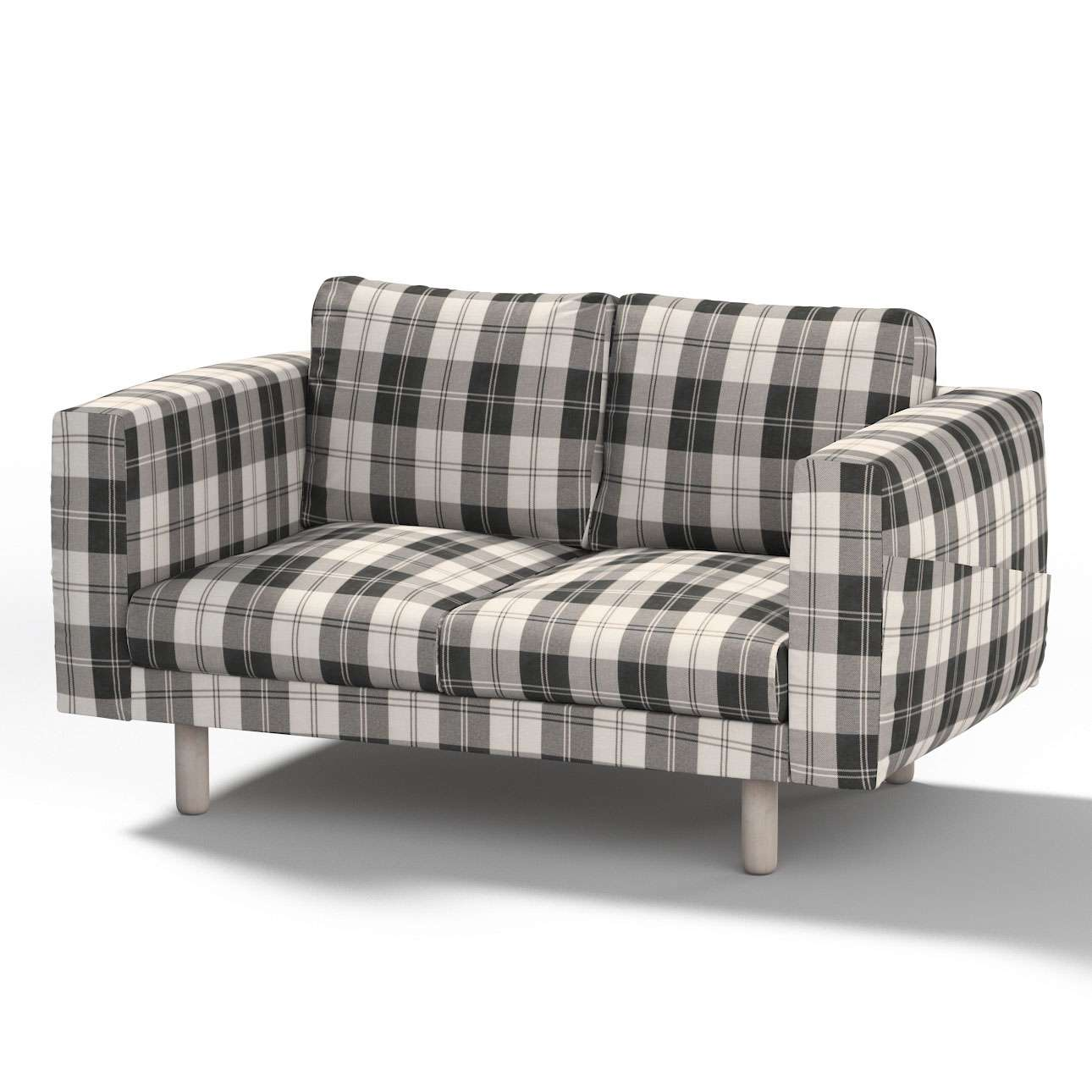 Pokrowiec na sofę Norsborg 2-osobową w kolekcji Edinburgh, tkanina: 115-74