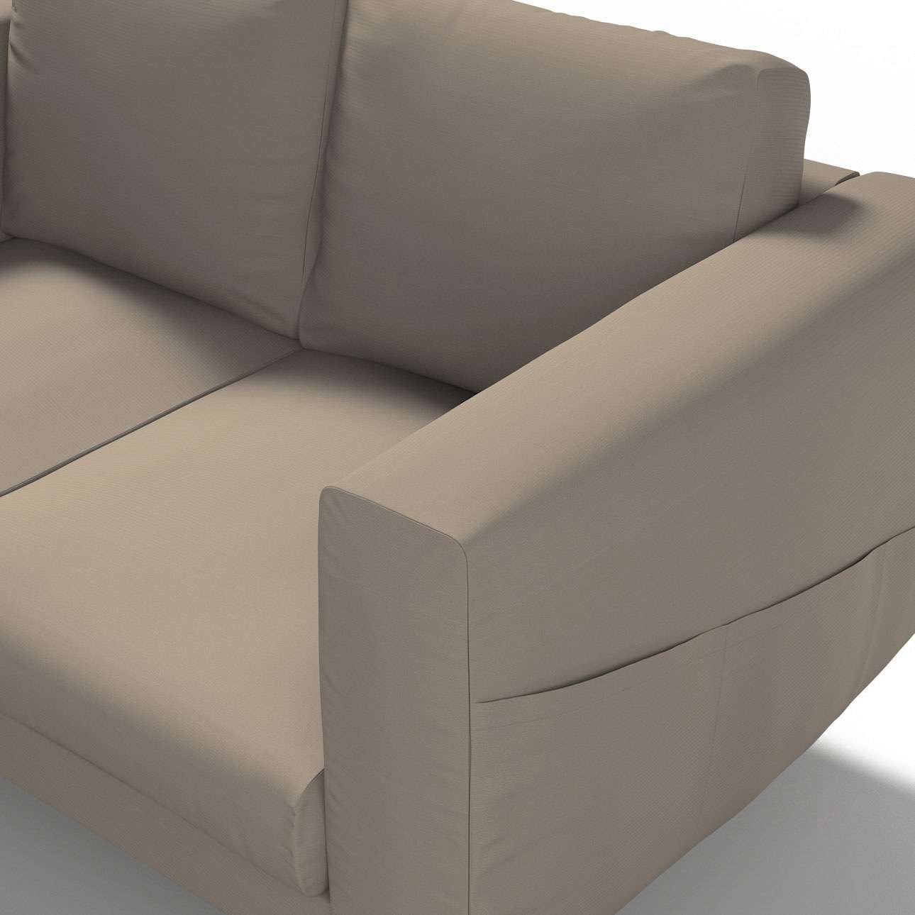 Pokrowiec na sofę Norsborg 2-osobową w kolekcji Cotton Panama, tkanina: 702-28