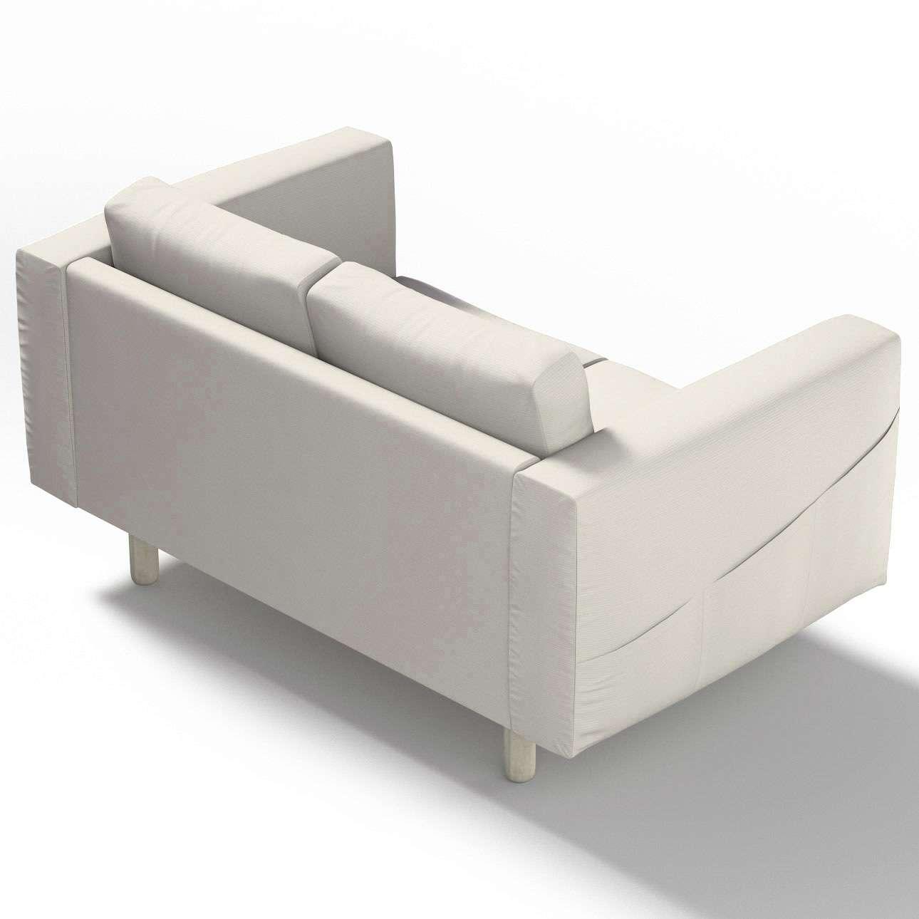 Pokrowiec na sofę Norsborg 2-osobową w kolekcji Cotton Panama, tkanina: 702-31