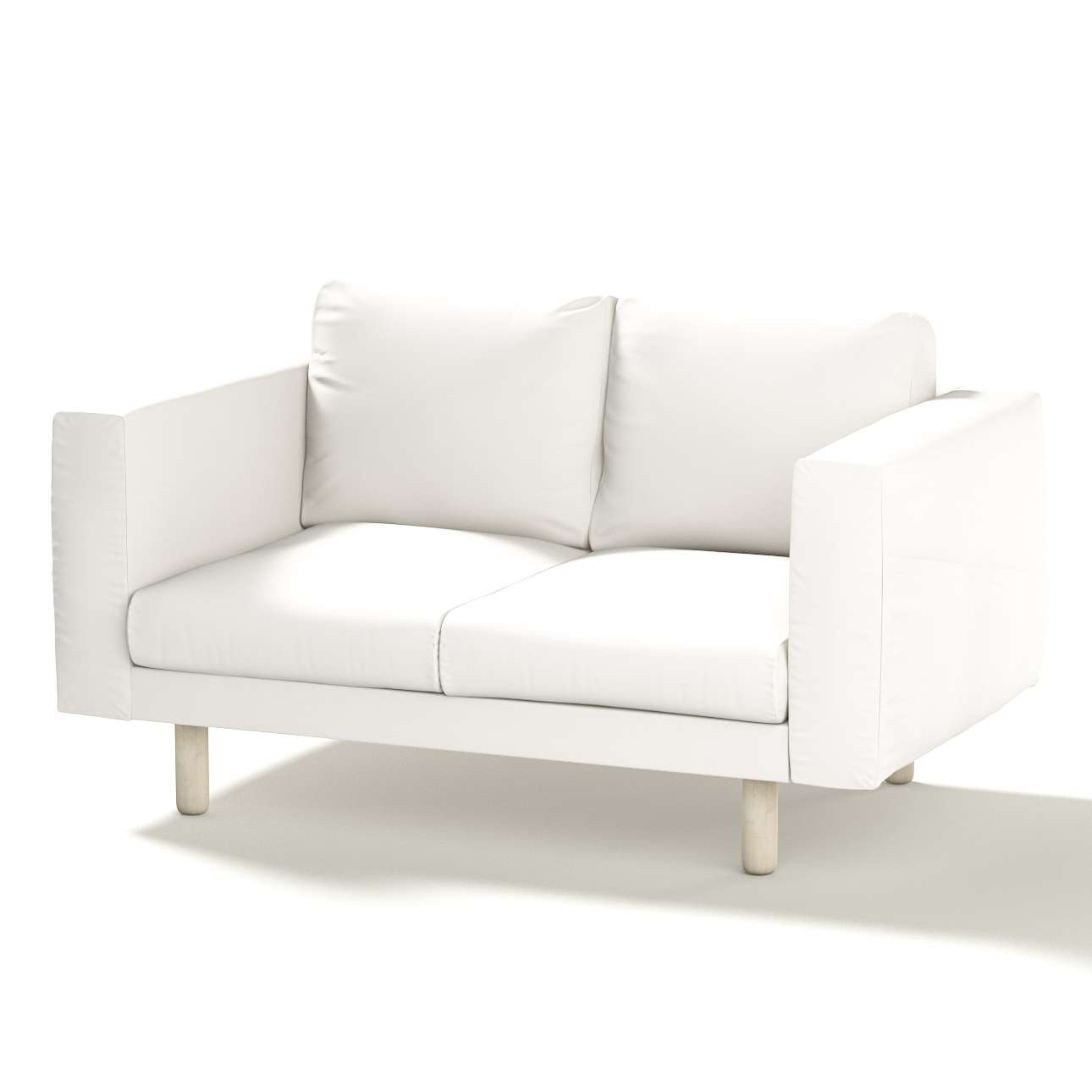 Norsborg 2 Seat Sofa Cover Snow White Cool Shade