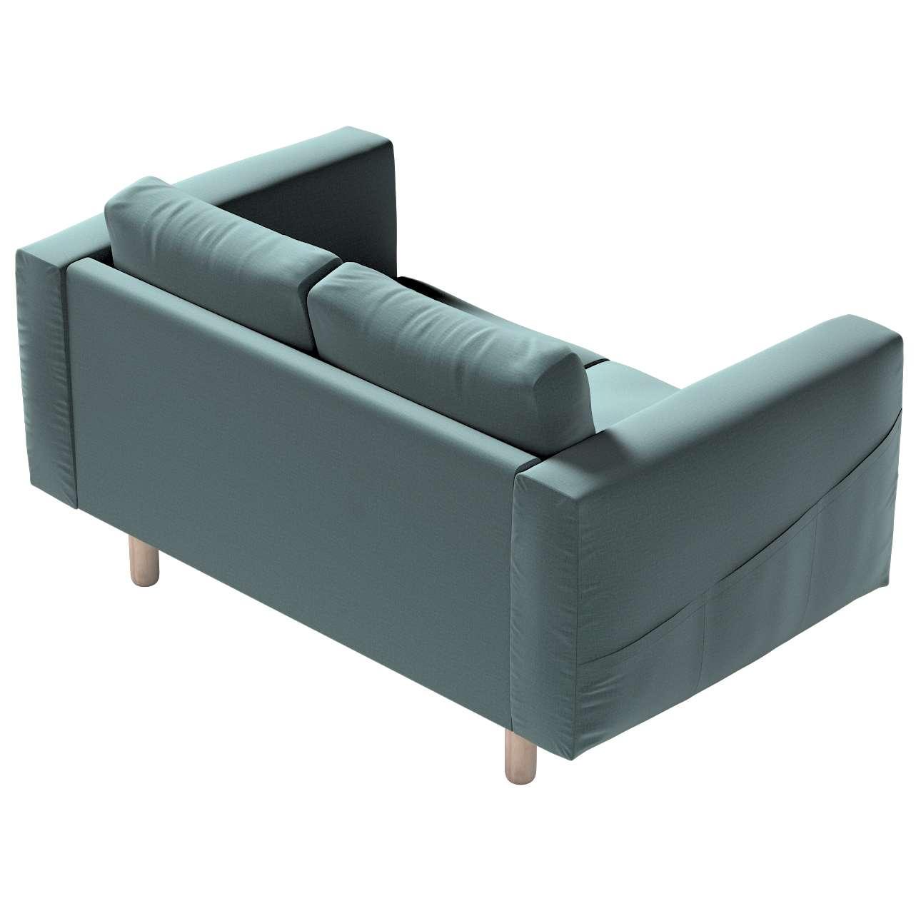 Pokrowiec na sofę Norsborg 2-osobową w kolekcji Ingrid, tkanina: 705-36