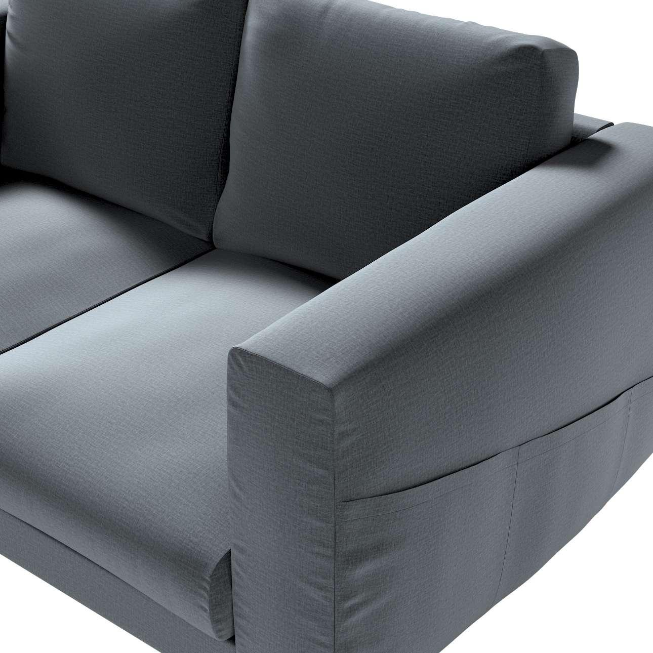 Pokrowiec na sofę Norsborg 2-osobową w kolekcji Ingrid, tkanina: 705-43