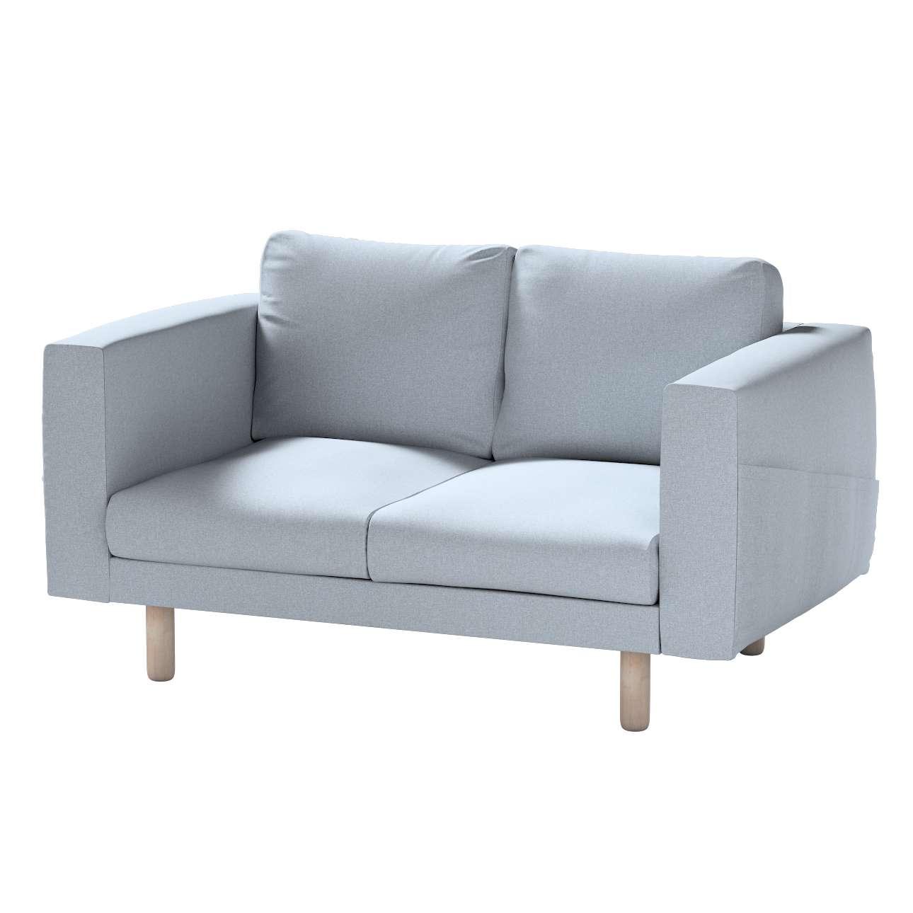 Pokrowiec na sofę Norsborg 2-osobową w kolekcji Amsterdam, tkanina: 704-46