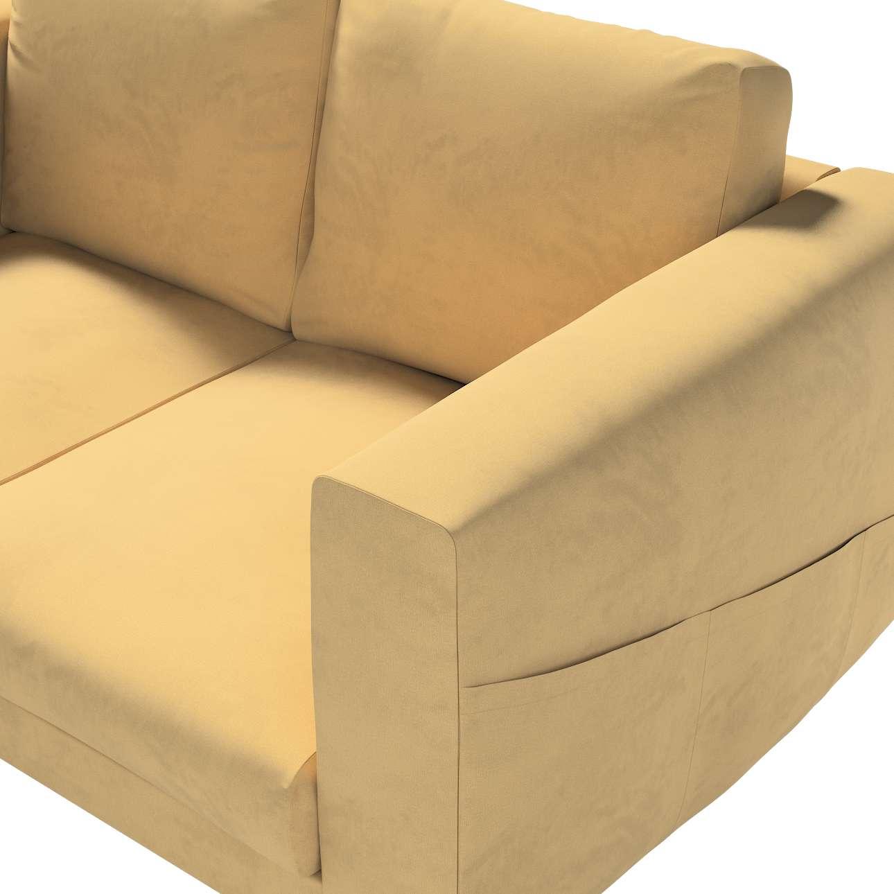 Pokrowiec na sofę Norsborg 2-osobową w kolekcji Living, tkanina: 160-93