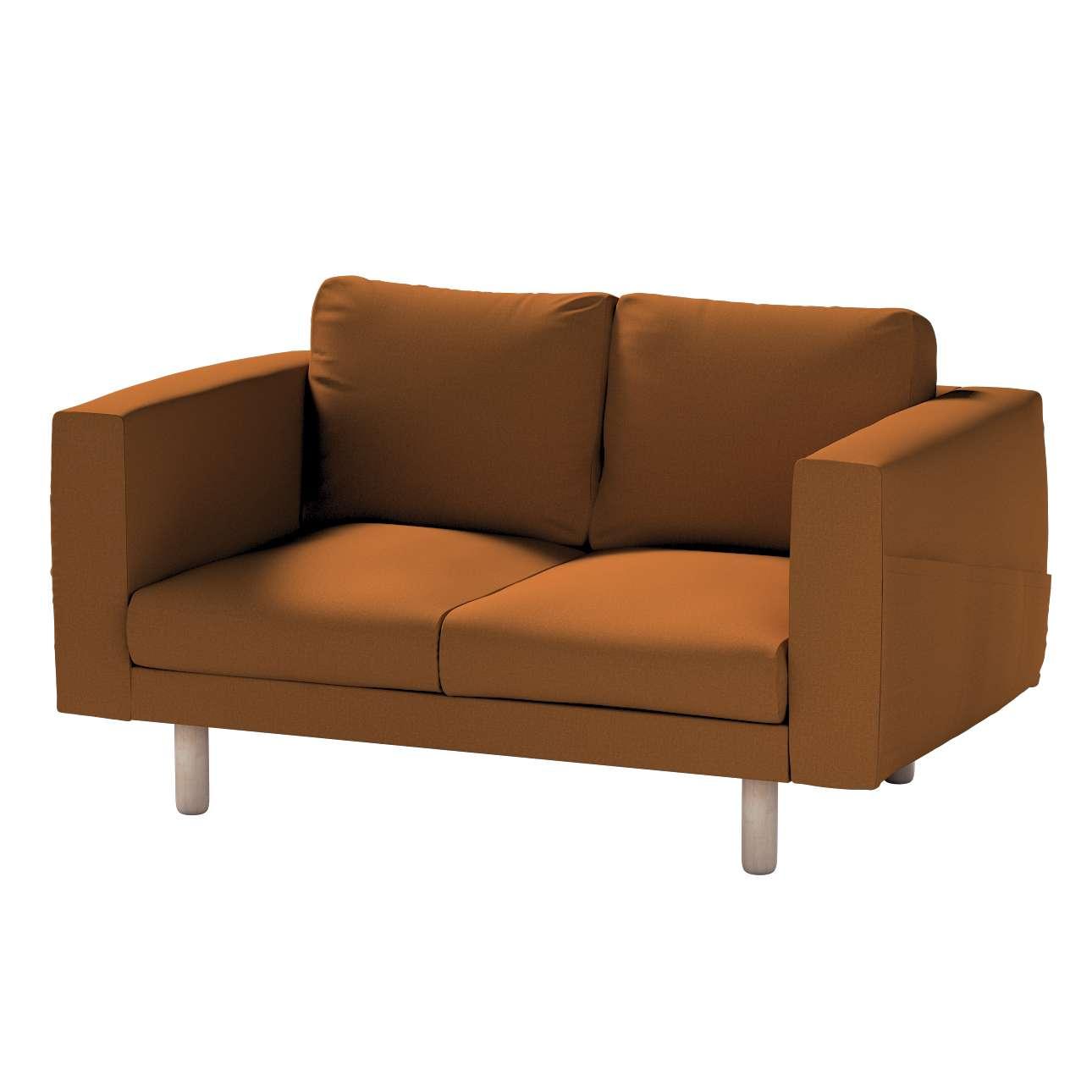 Pokrowiec na sofę Norsborg 2-osobową w kolekcji Living, tkanina: 161-28