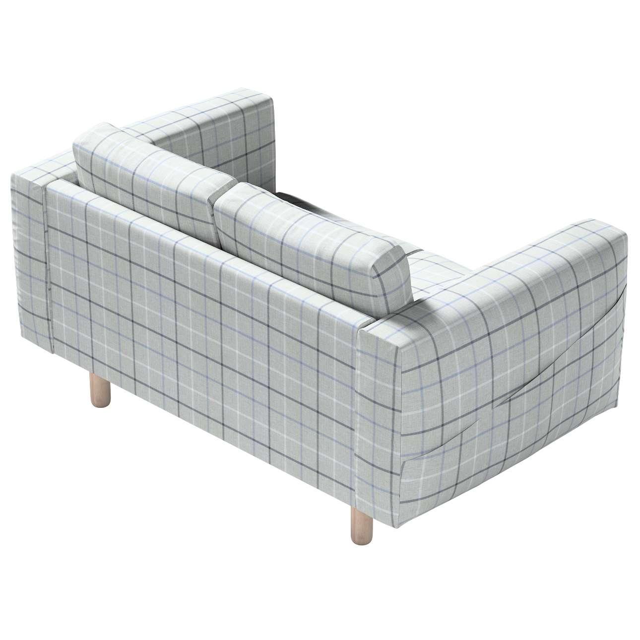 Pokrowiec na sofę Norsborg 2-osobową w kolekcji Edinburgh, tkanina: 703-18