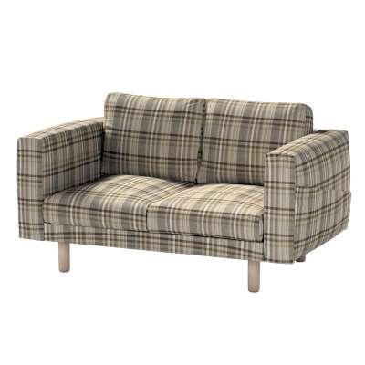 Pokrowiec na sofę Norsborg 2-osobową w kolekcji Edinburgh, tkanina: 703-17
