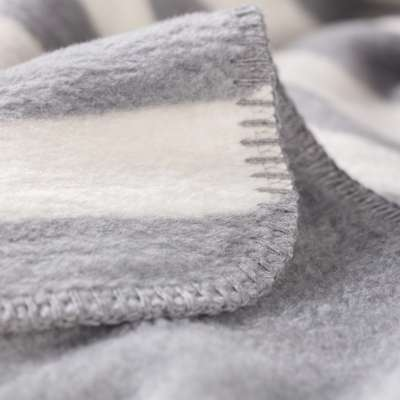 Koc Cotton Cloud 150x200cm Gray Stripes