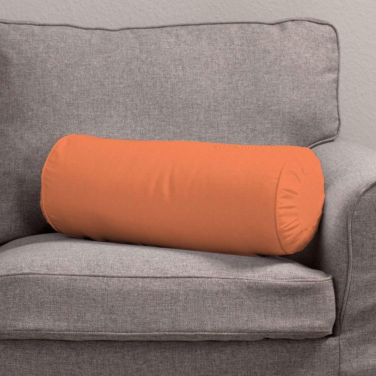 Ritinio formos  pagalvėlė su klostėmis Ø 20 x 50 cm kolekcijoje Jupiter, audinys: 127-35