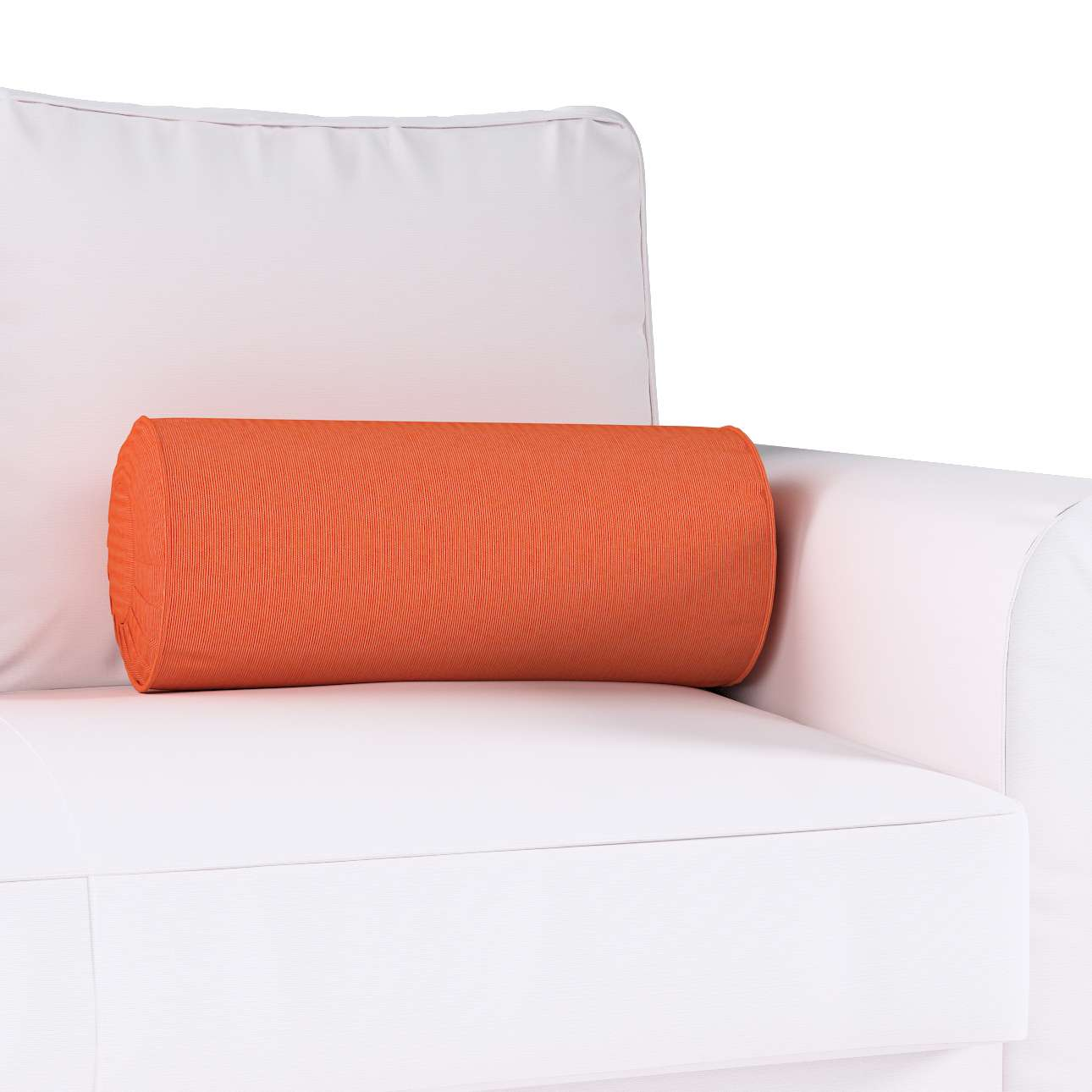 Bolster cushion with pleats in collection Jupiter, fabric: 127-35
