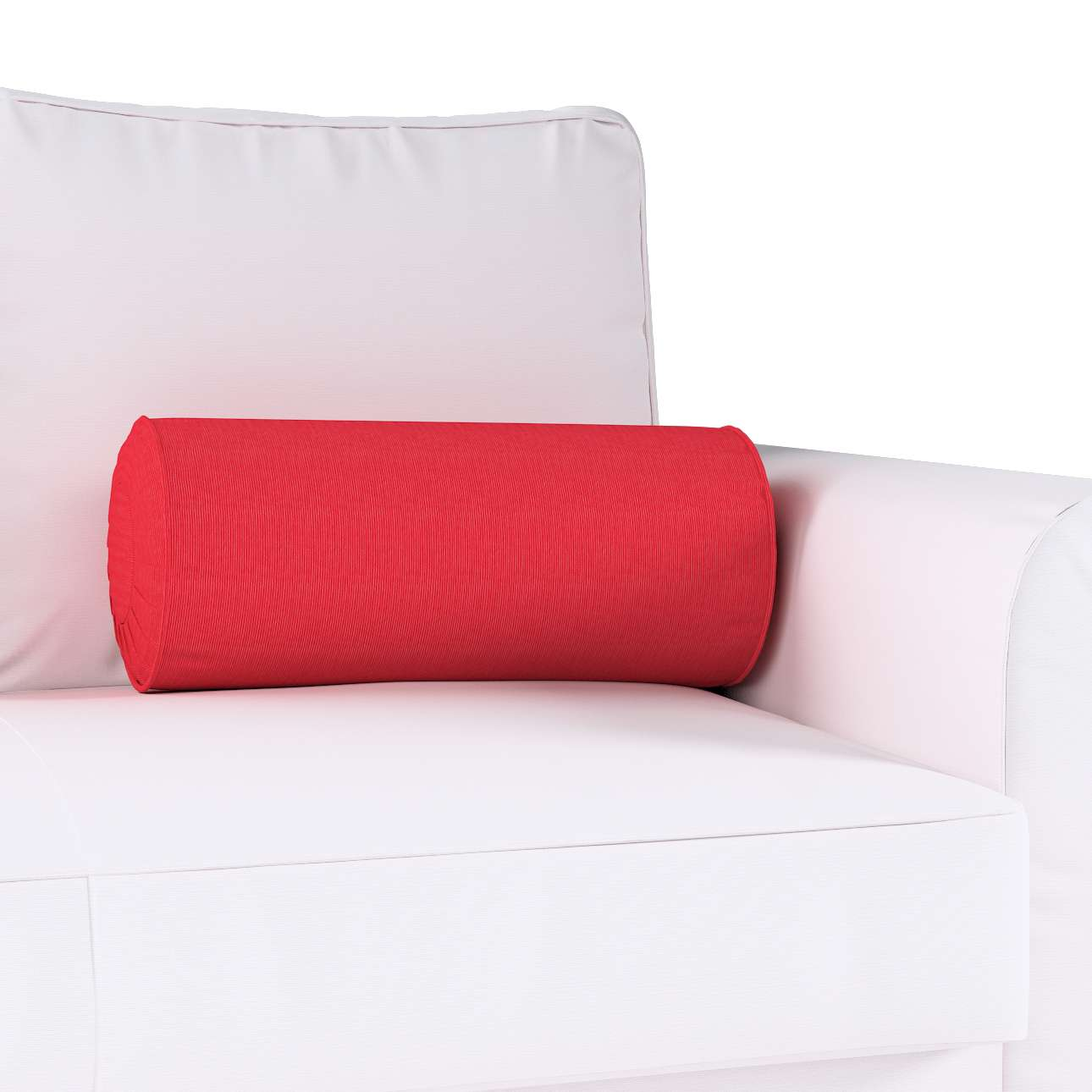 Bolster cushion with pleats in collection Jupiter, fabric: 127-14