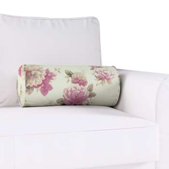 Poduszka wałek z zakładkami w kolekcji Mirella, tkanina: 141-07