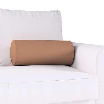Poduszka wałek z zakładkami w kolekcji Cotton Panama, tkanina: 702-02