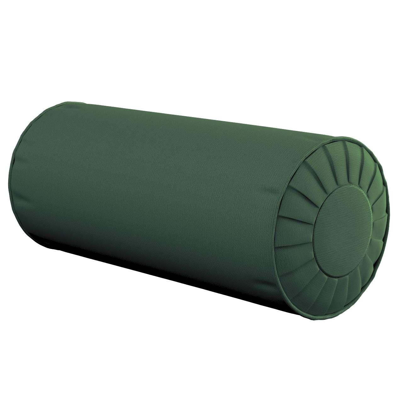 Ritinio formos  pagalvėlės užvalkalas su klostėmis Ø 20 x 50 cm kolekcijoje Cotton Panama, audinys: 702-06