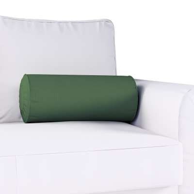Poduszka wałek z zakładkami w kolekcji Cotton Panama, tkanina: 702-06