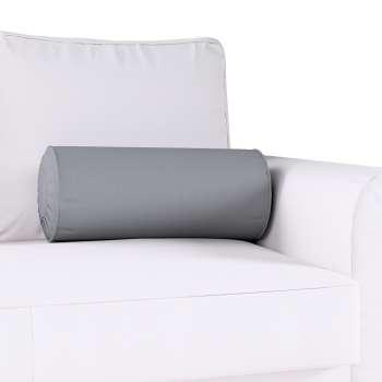 Poduszka wałek z zakładkami w kolekcji Cotton Panama, tkanina: 702-07
