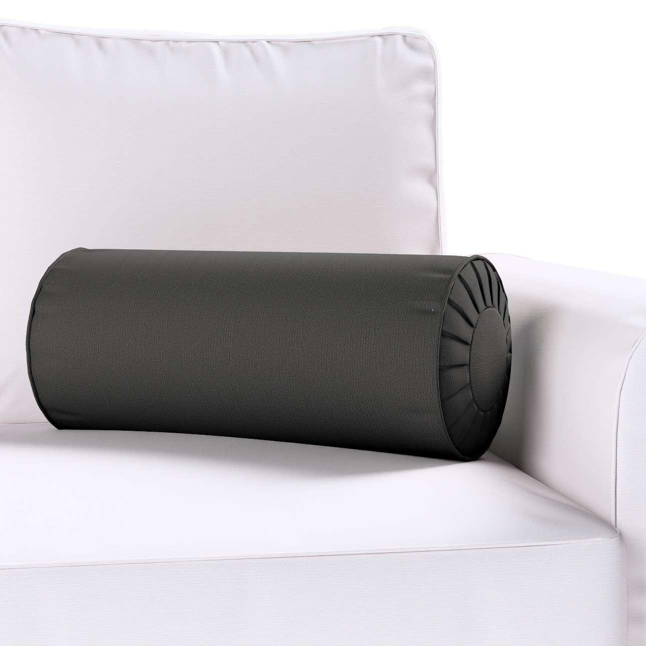 Ritinio formos  pagalvėlės užvalkalas su klostėmis Ø 20 x 50 cm kolekcijoje Cotton Panama, audinys: 702-08