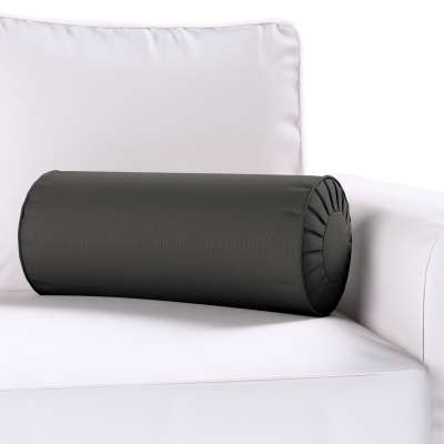 Bolster cushion with pleats