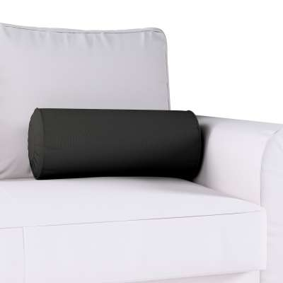 Poduszka wałek z zakładkami w kolekcji Cotton Panama, tkanina: 702-08