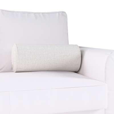 Poduszka wałek z zakładkami w kolekcji Linen, tkanina: 392-04