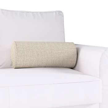 Ritinio formos  pagalvėlė su klostėmis Ø 20 x 50 cm kolekcijoje Linen , audinys: 392-05