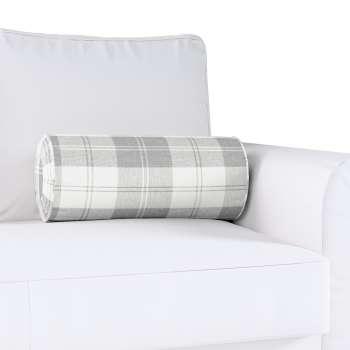 Poduszka wałek z zakładkami w kolekcji Edinburgh, tkanina: 115-79