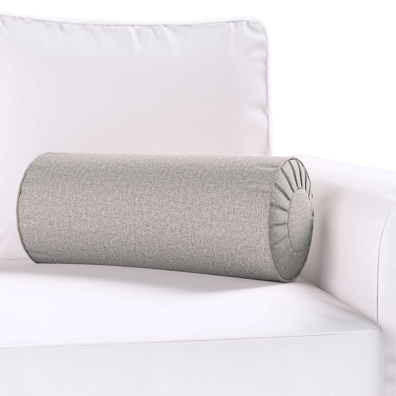 Ritinio formos  pagalvėlės užvalkalas su klostėmis Ø 20 x 50 cm kolekcijoje Edinburgh , audinys: 115-81