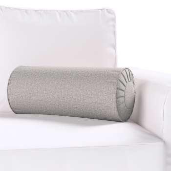 Poduszka wałek z zakładkami Ø20x50cm w kolekcji Edinburgh, tkanina: 115-81