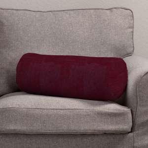 Ritinio formos  pagalvėlės užvalkalas su klostėmis Ø 20 x 50 cm kolekcijoje Chenille, audinys: 702-19