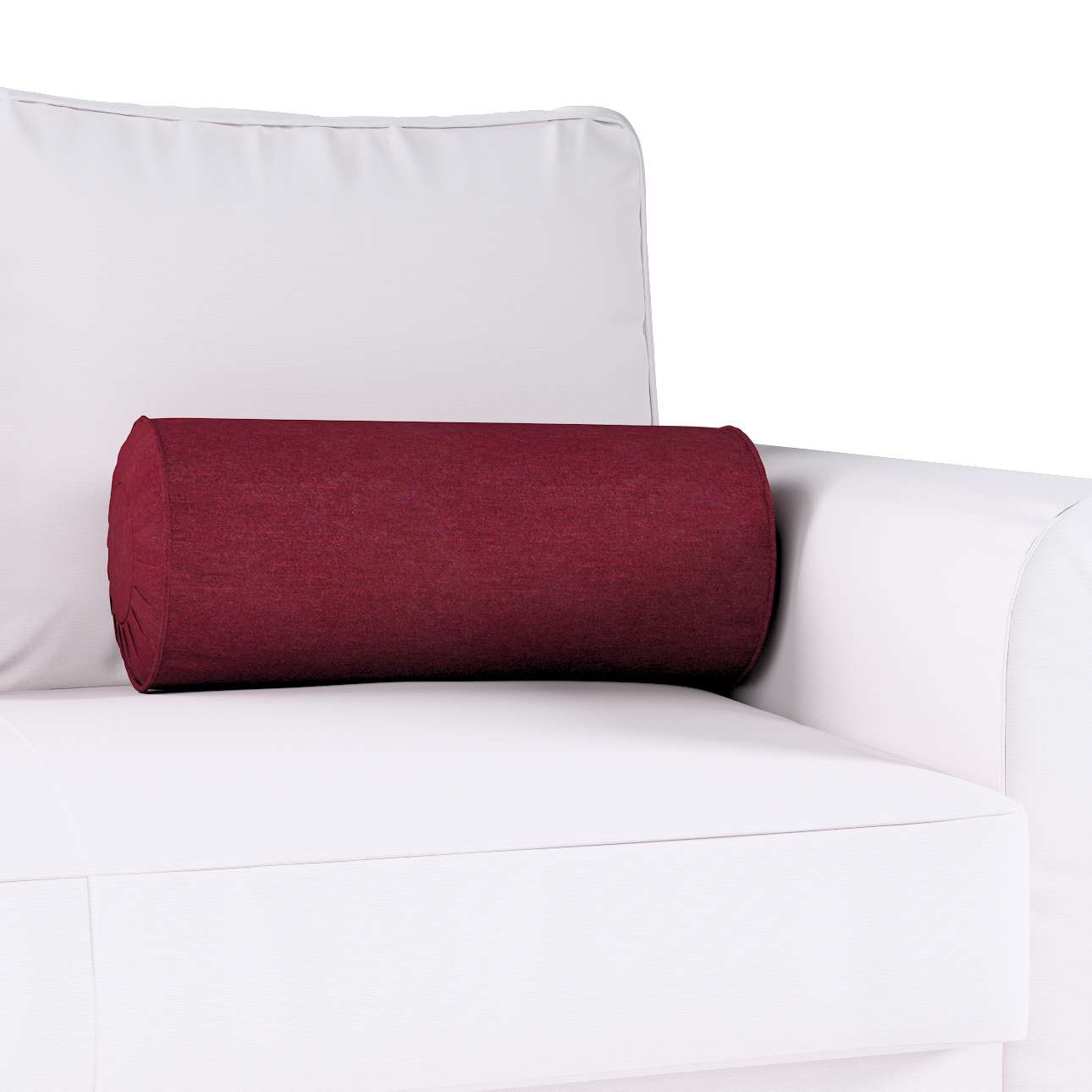 nackenrolle mit falten bordeaux dekoria. Black Bedroom Furniture Sets. Home Design Ideas
