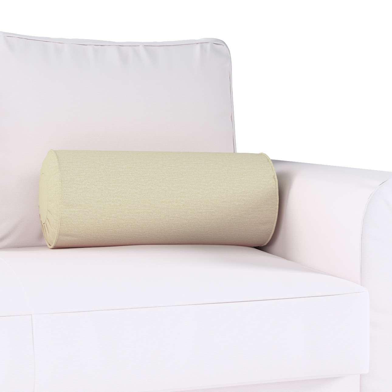Poduszka wałek z zakładkami w kolekcji Chenille, tkanina: 702-22