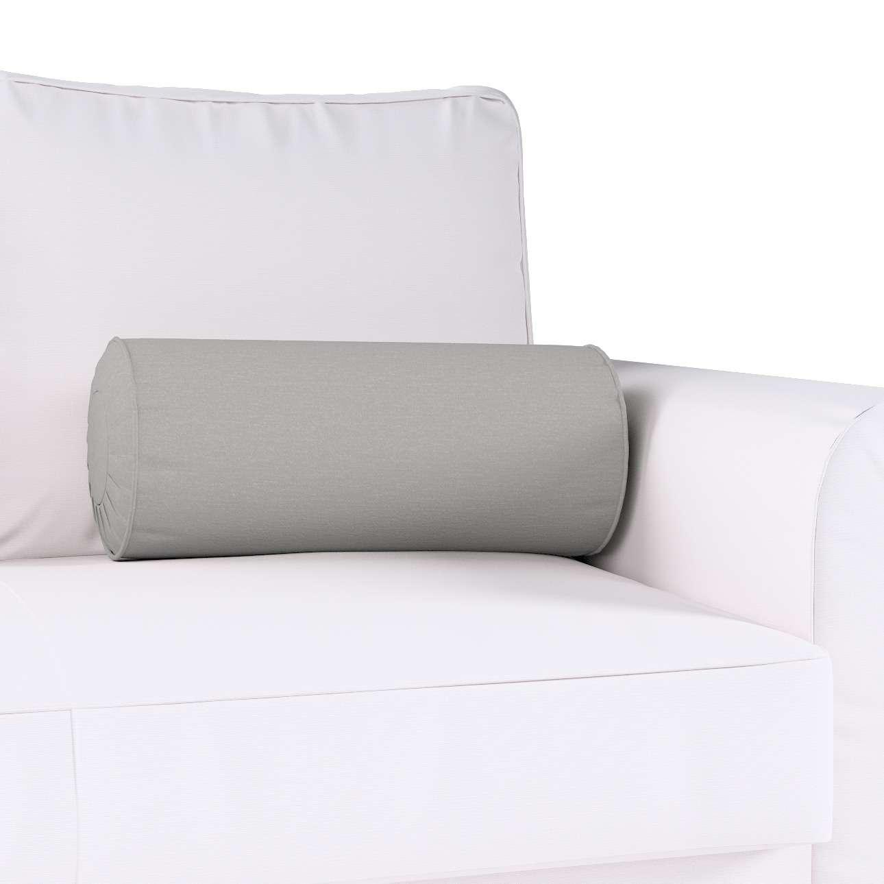 Poduszka wałek z zakładkami w kolekcji Chenille, tkanina: 702-23