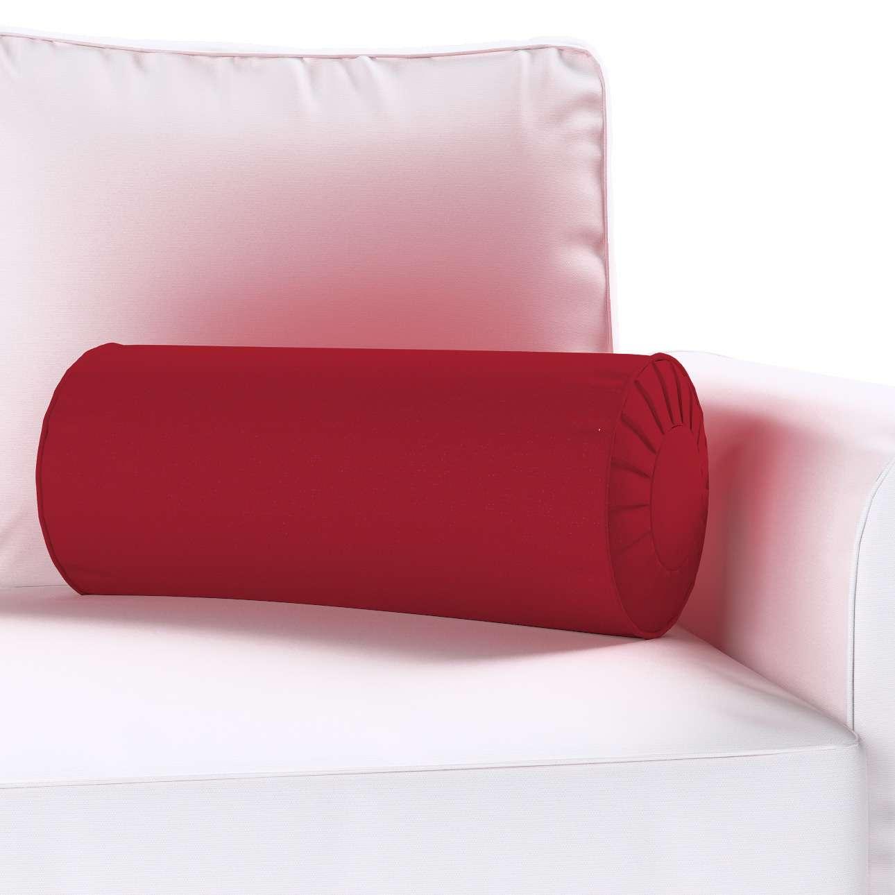 Ritinio formos  pagalvėlės užvalkalas su klostėmis Ø 20 x 50 cm kolekcijoje Chenille, audinys: 702-24