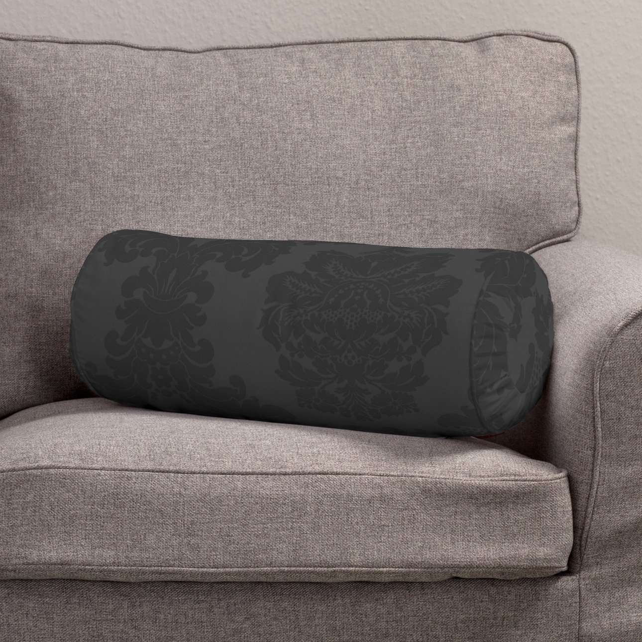 Bolster cushion with pleats in collection Damasco, fabric: 613-32