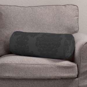 Ritinio formos  pagalvėlės užvalkalas su klostėmis Ø 20 x 50 cm kolekcijoje Damasco, audinys: 613-32
