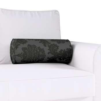 Ritinio formos  pagalvėlė su klostėmis Ø 20 x 50 cm kolekcijoje Damasco, audinys: 613-32